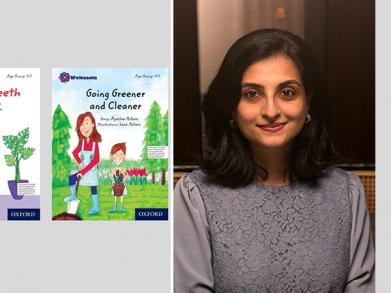 Not many people choose to be authors for children's books but Aslam decided to write a book for children. She was motivated to write her first book, Lost and Found for her son, Eisa when he was about 5 years old.